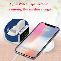 10W fast charging adapter wireless charging pad For iphone 8 plus xs x apple watch wireless charger samsung s9 s7 note9 charger