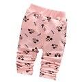 2016 nova primavera bonito padrão de algodão calças do bebê bebê meninas leggings bebê meninas calças 0 - 2 ano