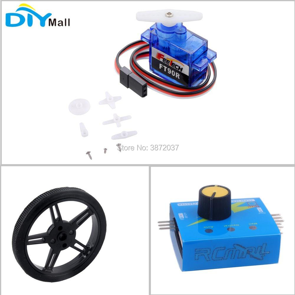 US $1 98 |Feetech FT90R Digital Servo 360 Degree Continuous Rotation Micro  Servo Wheel Tester for Arduino Smart Car Robot-in Home Automation Modules