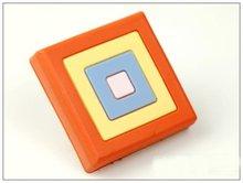 10 unids/lote cuadro naranja dibujos animados niño mango adecuado para cajones y Puertas