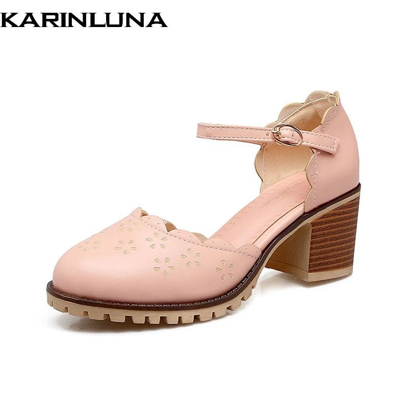 KarinLuna nieuwe nieuwe collectie zomer sweet school vrouwen sandalen - Damesschoenen - Foto 1