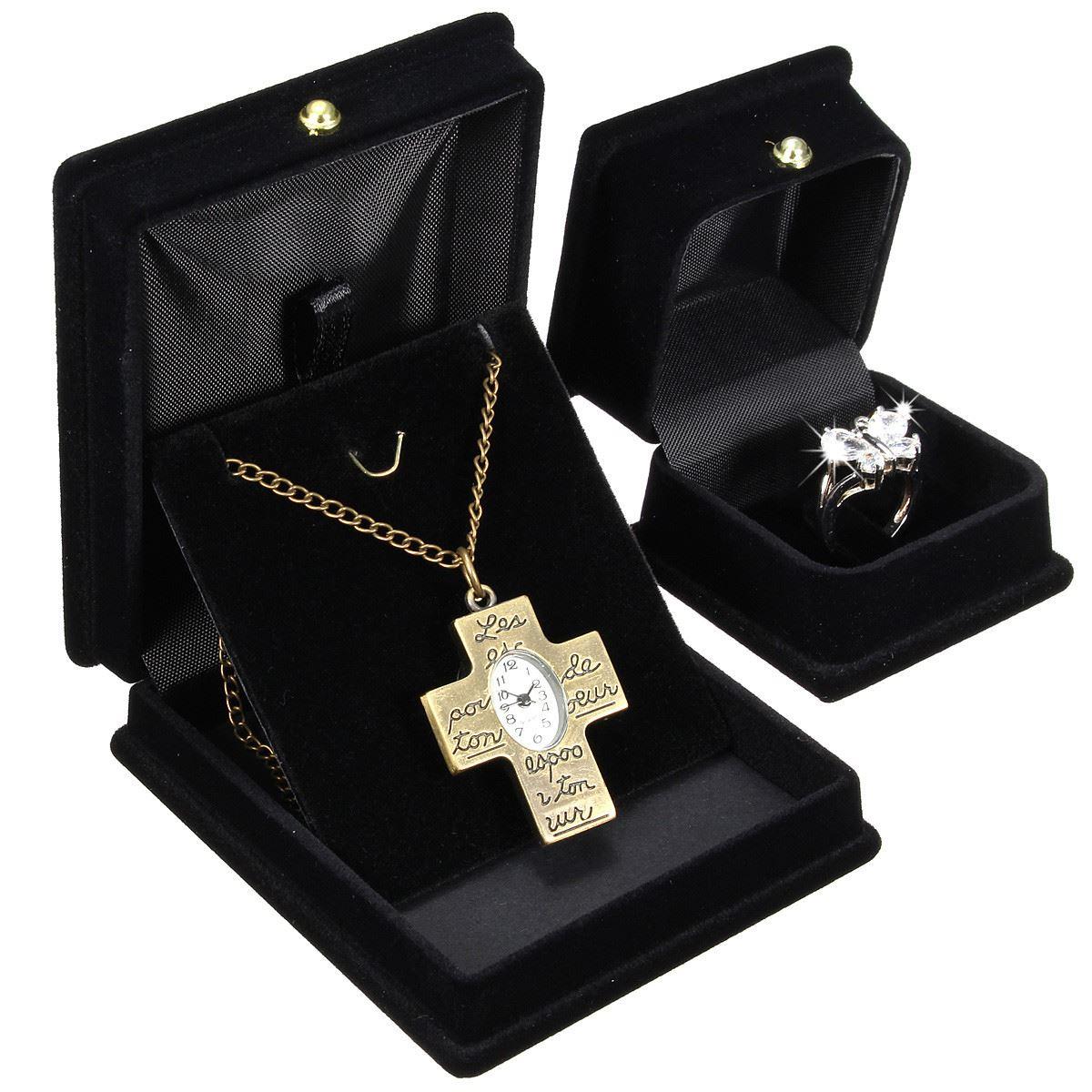 2016 New Design Jewelry Organizer Gift Box Black Sofa