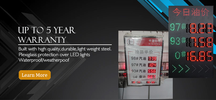 China sign outdoor Suppliers
