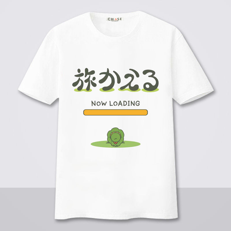 Harajuku T Shirt Casual Fashion Cute Travel Frog Cotton T-shirts Short Sleeve Top Tees Female Kawaii Funny Tshirts TX025
