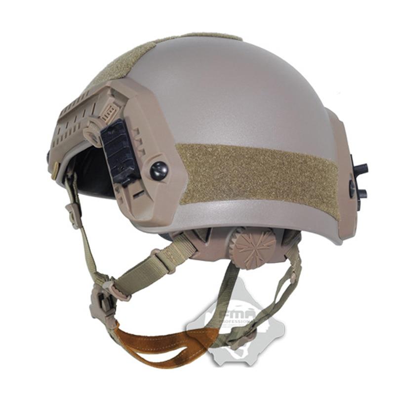 FMA aramide Airsoft casque tactique ABS escalade Maritime casque de protection pour Paintball Wargame capacete airsoft militaire kask - 5