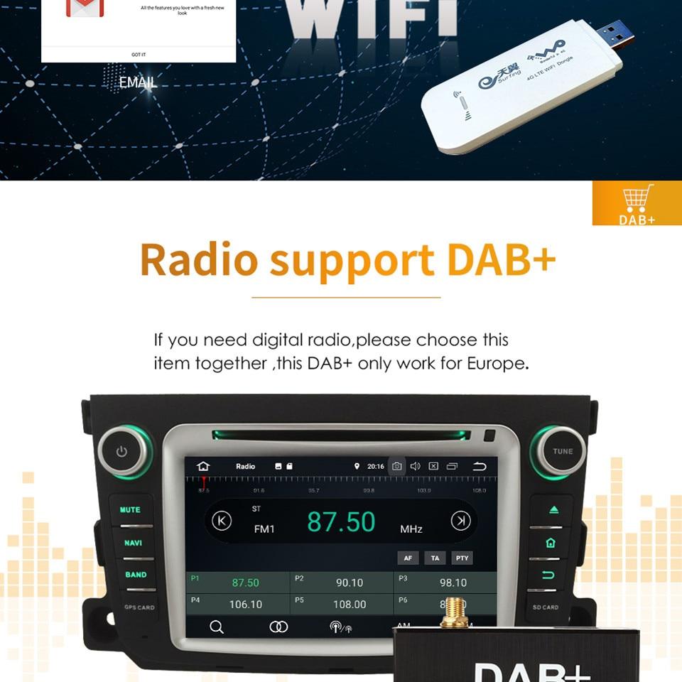 "Flash Deal 7"" Octa Core 4G WIFI Android 8.1 4GB RAM 64GB ROM RDS Car DVD Multimedia Player Stereo Radio For BMW E90 E91 E92 E93 2005-2012 16"