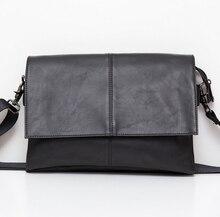 Free Shipping Men Casual Briefcase Business Shoulder Leather Bag Men Messenger Bags Handbag Bag Men's Travel Bags