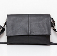 Kostenloser Versand Männer Casual Aktentasche Business Schulter Leder Tasche Männer Messenger Bags Handtasche Tasche männer Reisetaschen