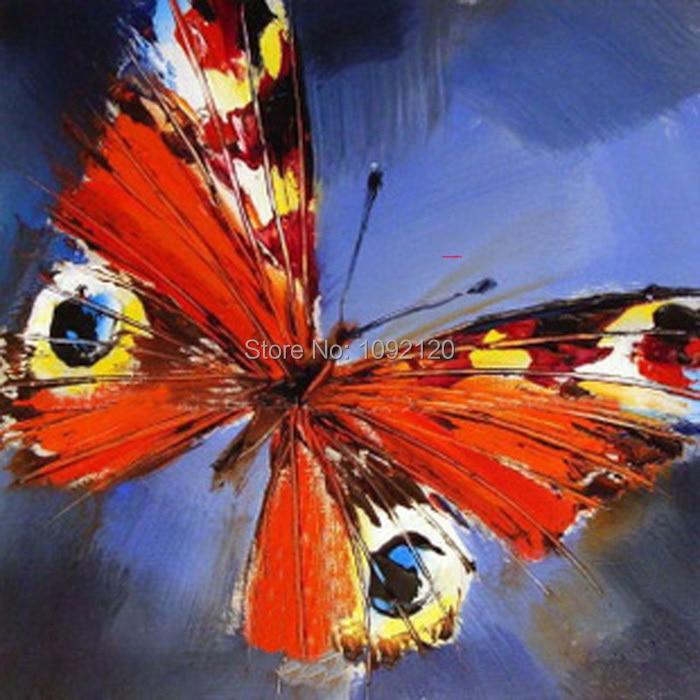 Πεταλούδα πετρελαίου ζωγραφική - Διακόσμηση σπιτιού