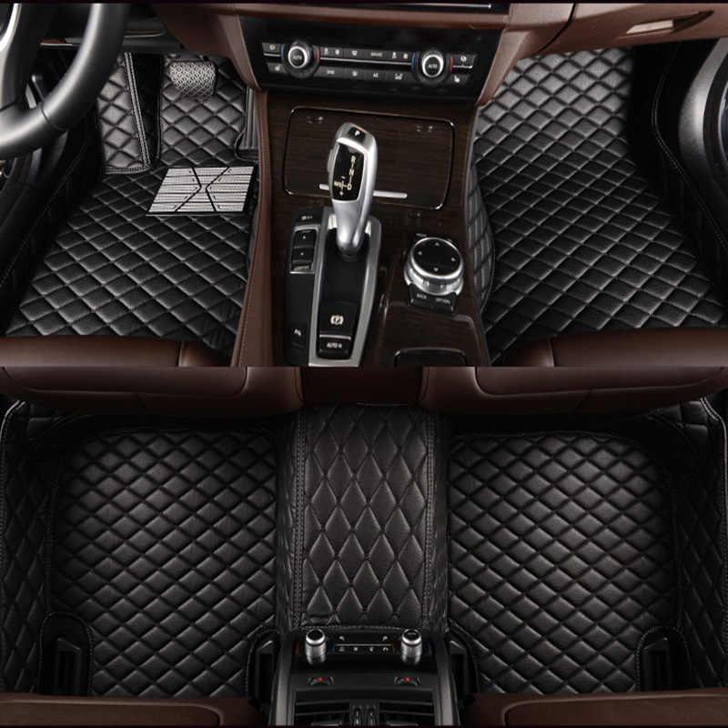 Alfombrillas de suelo de coche personalizadas para KIA K1 K2 K3 K4 K5 Kia rio Cerato Sportage Optima máxima estilo de coche accesorios