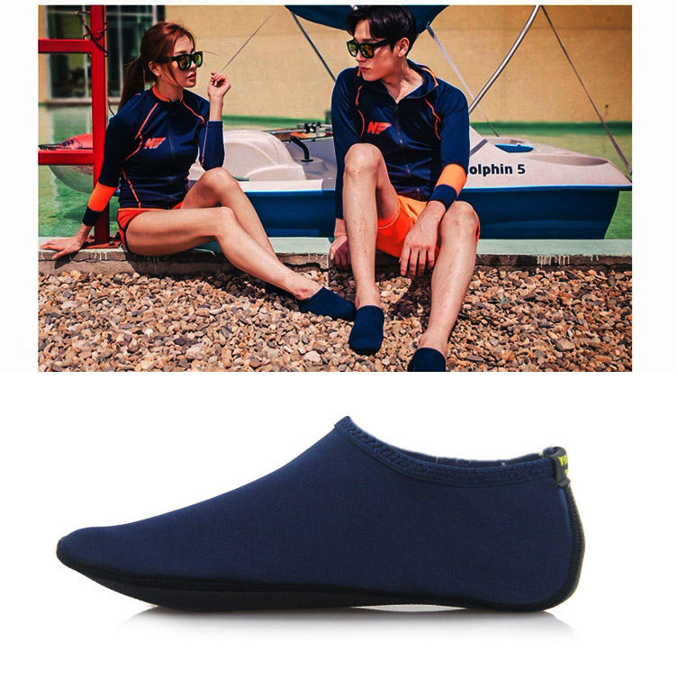 Durable Sole Barefoot Water Skin Shoes Aqua Socks Beach Pool Sand Swimming Yoga Water Aerobics Sock Shoes KH889