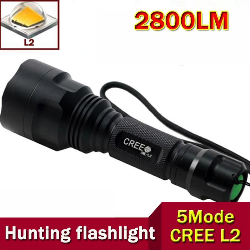 High-Quality-Lantern-C8-CREE-Led-Flashlight-2800-Lumens-lanterna-Led-CREE-XM-L2-Torch-Light
