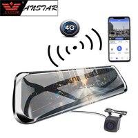 ANSTAR 10 ips Видеорегистраторы для автомобилей Touch 4 г зеркало видеорегистратор gps навигации Android ADAS FHD 1080 P WI FI Авто Регистратор зеркало заднего в