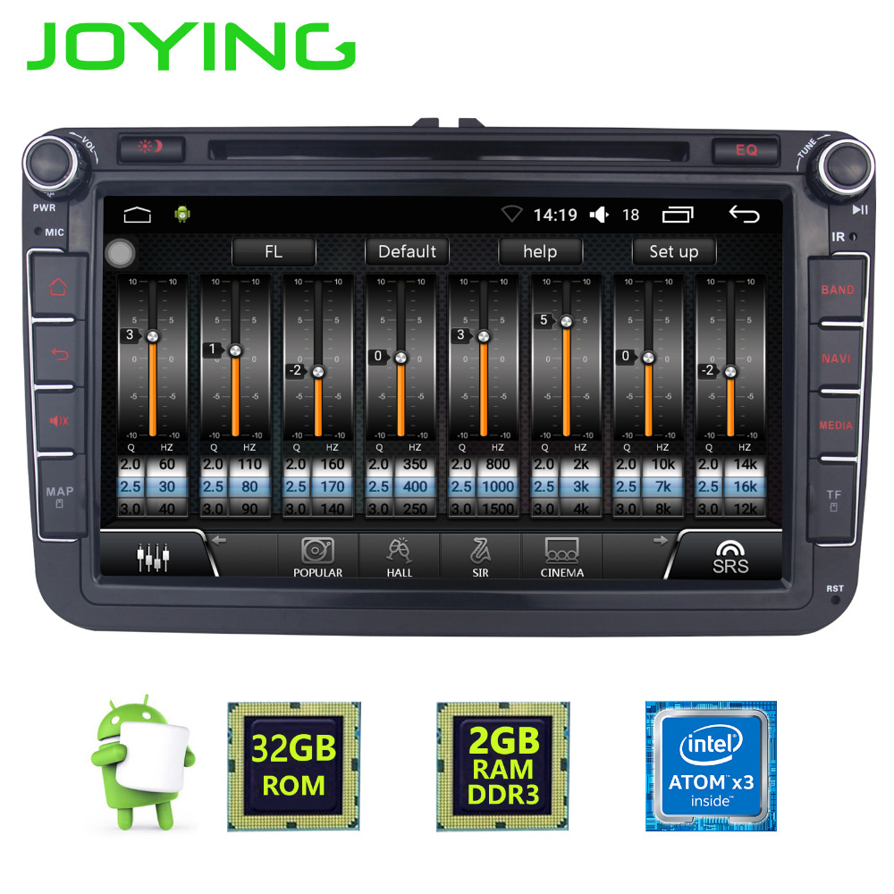 Multimedia Player 2 Din Car HU GPS Radio Tape Recorder for VW/Volkswagen/Golf/Polo/Tiguan/Passat/SEAT/leon/Skoda/Octavia NO DVD funrover android 8 0 two 2 din 9 inch car dvd player stereo for vw volkswagen polo golf skoda octavia seat radio wifi usb no dvd