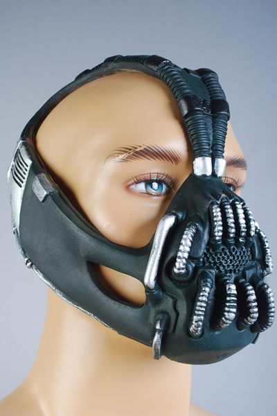 Batman: The Dark Knight Rises Bane Dorrance Mask Voksen Menn Cosplay - Kostymer - Bilde 3