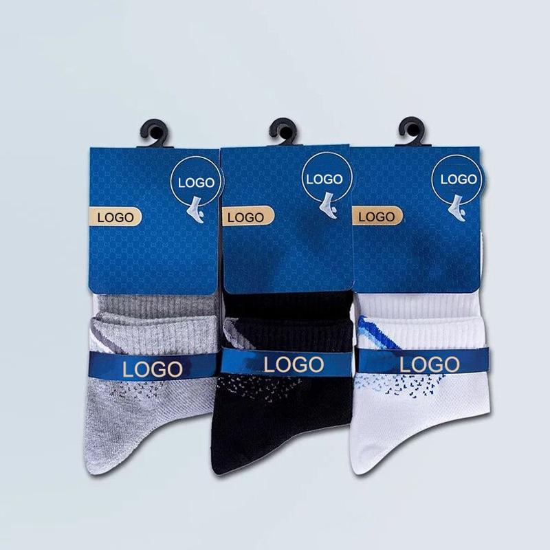 Custom Socks design Custom logo label package Women Cotton socks OEM service support online wholesales