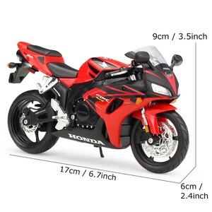 Image 5 - Maisto 1:12 jouet de moto CBR 1000RR modèle de Simulation bricolage assemblé voiture à moteur enfants Kits de jouets éducatifs