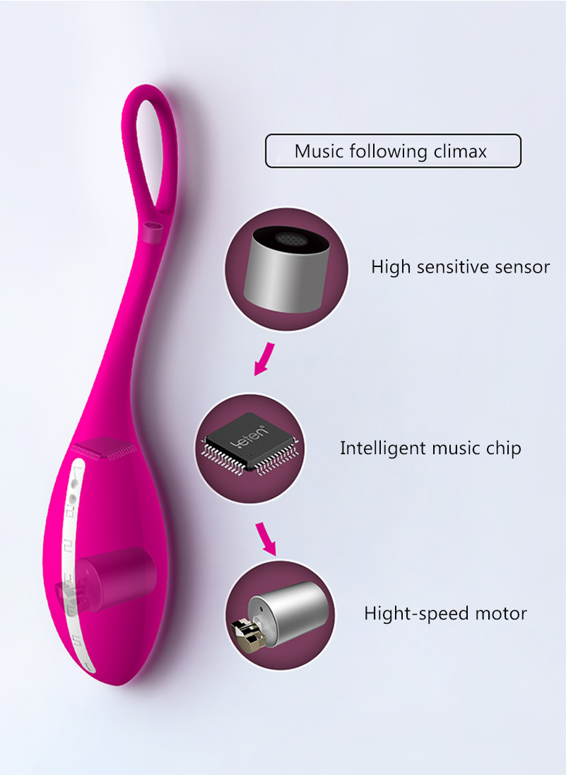 Leten Silicone Mini G-spot Bullet Vibrator Massager Rechargeable Wireless Nipple Clit Vibrators Erotic Toys Sex Machine For Men 5