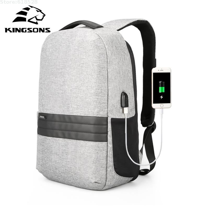 2018 New USB Charging port 15.6 inch Laptop Backpack Humanized design Anti-theft Large capacity Travel Computer Bag for men bopai laptop backpack with usb external charging port for 15 6 inch laptop men anti theft waterproof large capacity travel bag