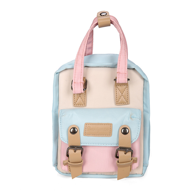 Hot Mini Backpack Japanese Cute Portable Hand Backpack Small Daypack Shoulder Backpack Women's Bag