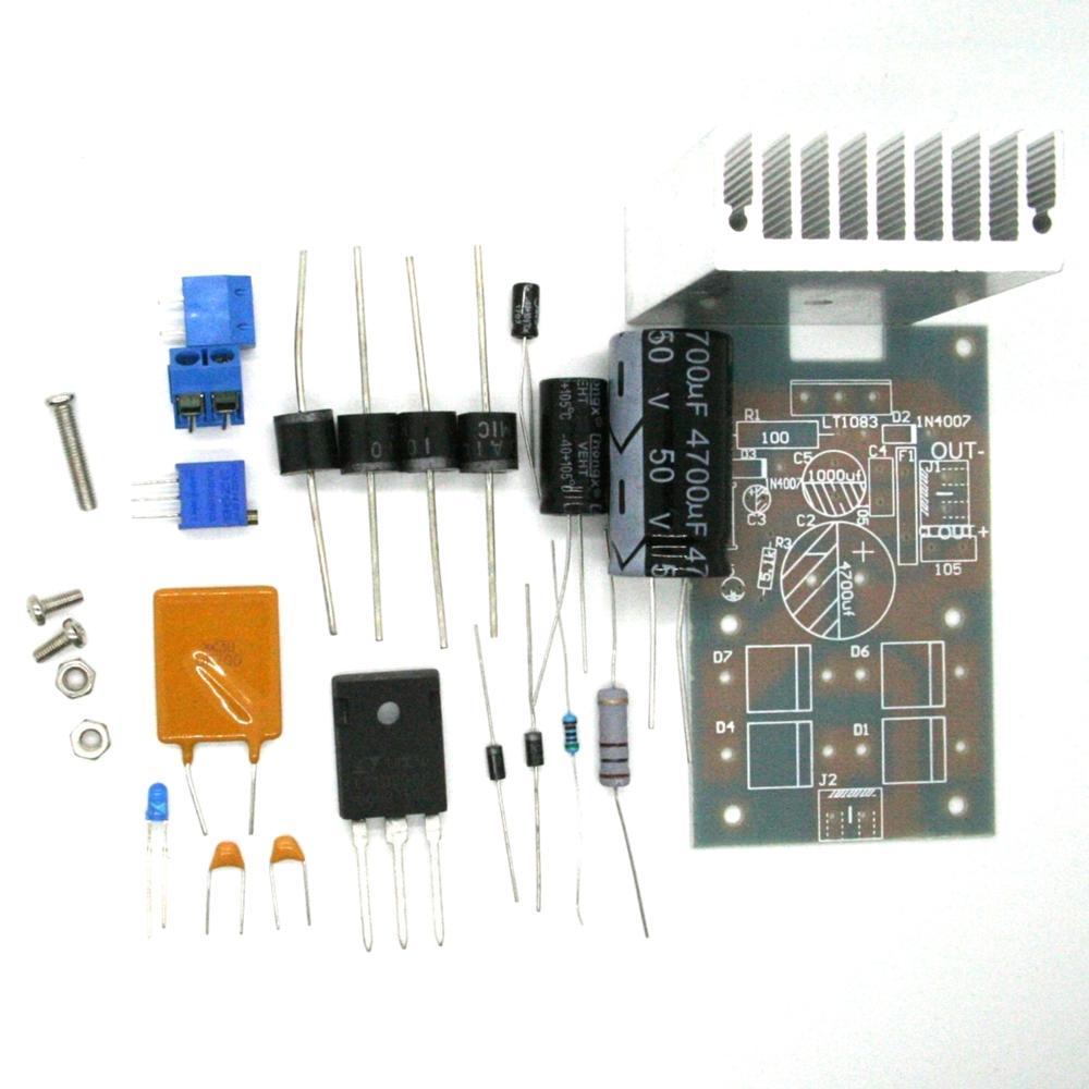Diy Low Noise Power Supply Pcb Lt1083 Lt1084 Lt1085 Lm317 Lm338 25v 5a Circuit Diagram And Regulowany Zasilacz Pokadzie Wysokiej Mocy Liniowy Modu Zasilania 7a Z Wasnym Odzysku Ubezpieczenia