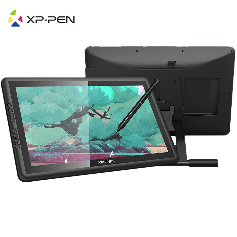 XP-PEN Artist 16 PRO 1080P HD 15.6 IPS Art Graphics Drawing Monitor Digital Pen Display 8192 Pressure 8 Shortcuts for Mac Win10 ...