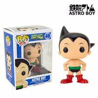 Оригинальный Funko поп Азии Astro Boy виниловые фигурку Коллекционная модель игрушки с Оригинальная коробка