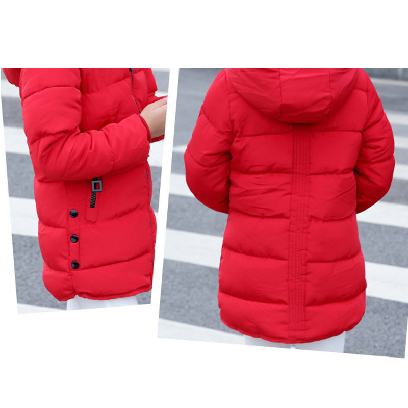 Child jacket Girl  Jackets for girls winter coat 2017 fashion children clothing Kids Hooded Coat Thicken cotton-padded jacket - China Cheap Products