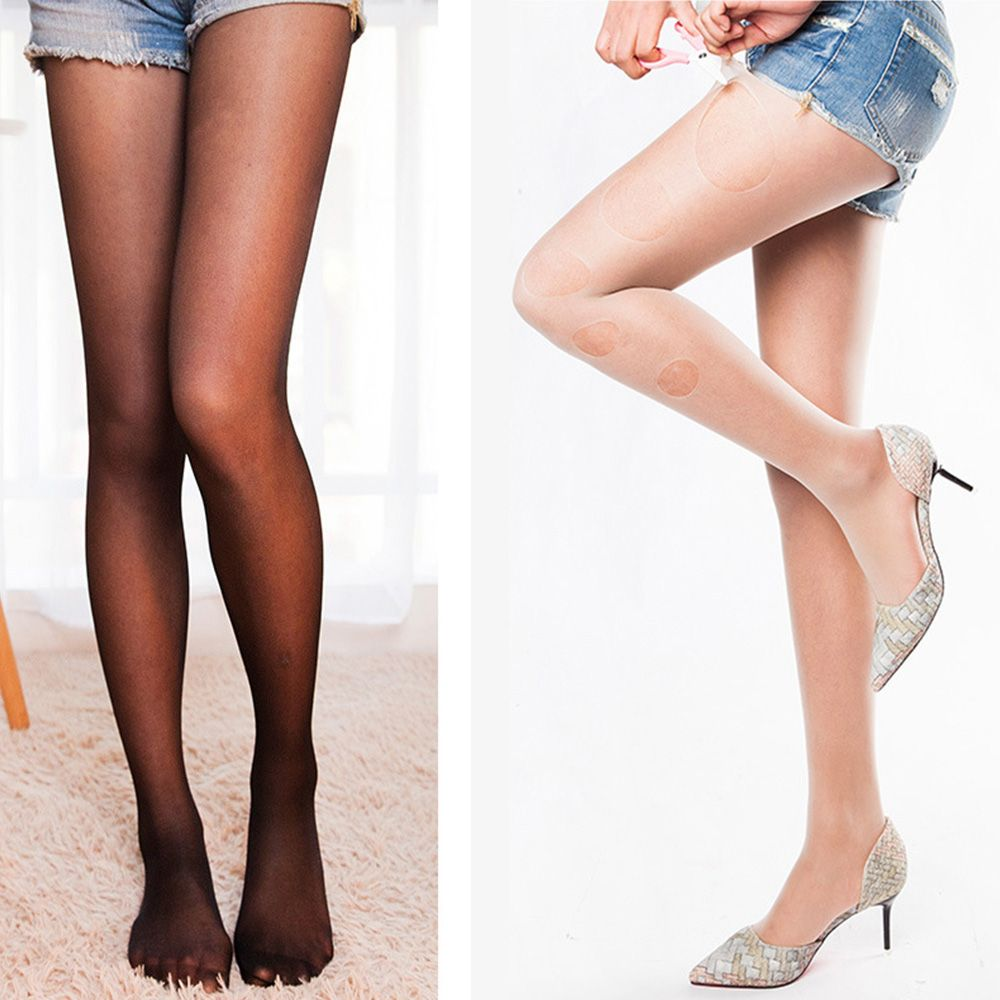 3bf1f61a200d4 1Pair Women Pantyhose DIY Design 8D Women Sexy Stockings Prevent Hook Silk  Thin Any Cut Tights Breathable Summer Stockings New-in Tights from Women's  ...