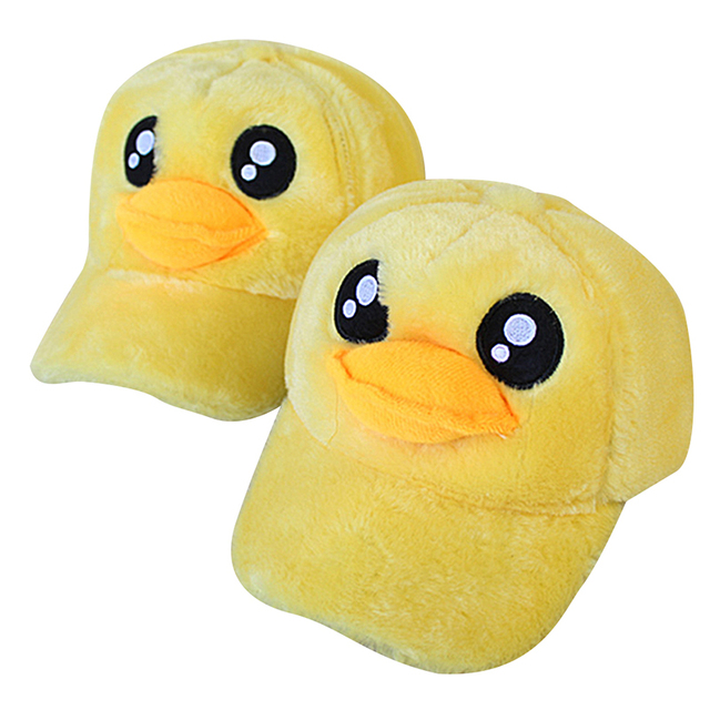 High Quality Big Yellow Duck Cap Adult Women Hat Hip Hop Baseball