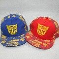 3-8 Years 2016 New Fashion Print Transformers Design Outdoors Causal Children Baseball Caps Snapback Caps Hip Hop Hats