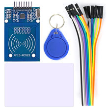 OPEN-SMART RC522 RFID Card Reader Module Kit with 8P Cable for Arduino with S50 Card / Keychain(China)