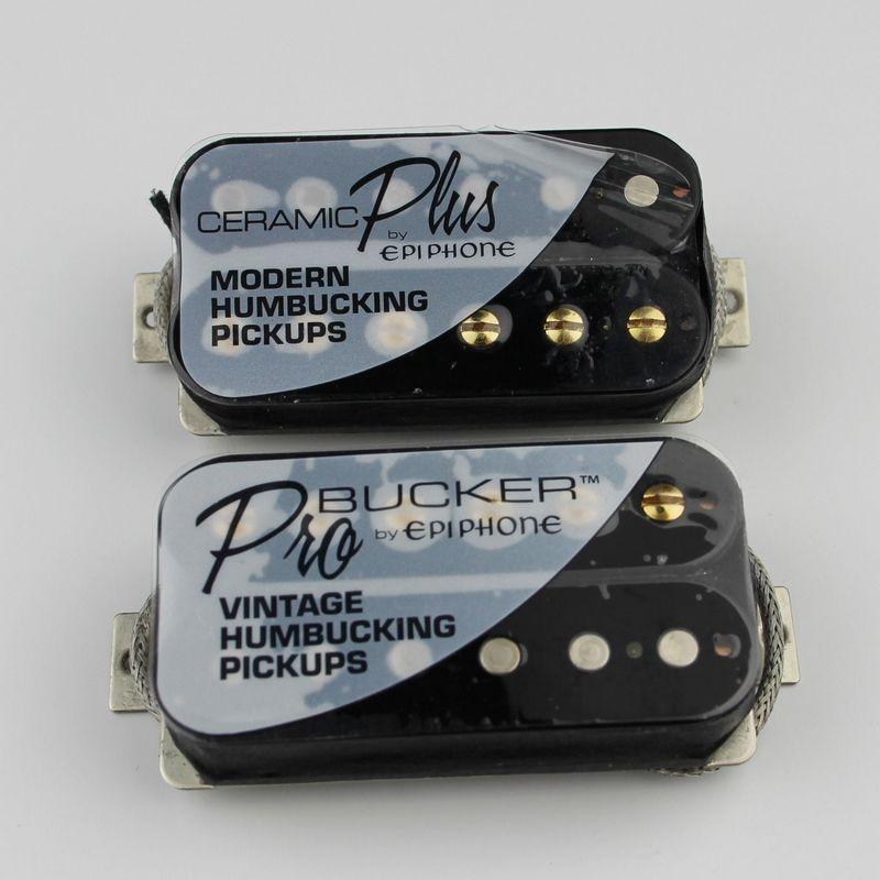 Pickguard Schlagbrett für EPIPHONE Les Paul 2x Humbucker weiß 1-lagig