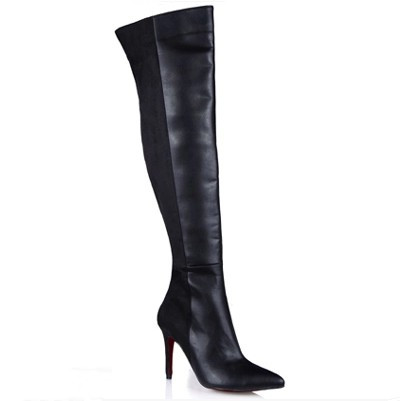 Popular Long Leather Boots for Women-Buy Cheap Long Leather Boots