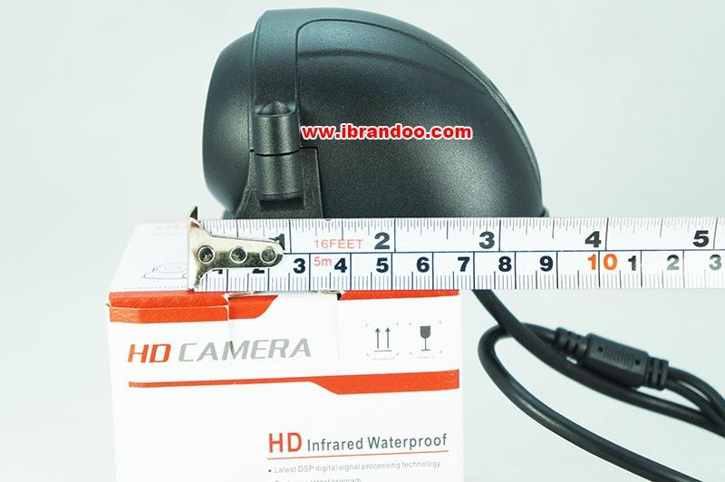 side view camera length