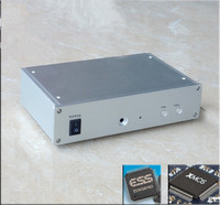 SU3B PC HiFi DAC DSD ES9038PRO+ OPA604AP+ XMOS XU208 Asynchronous USB Decoder Amplifier