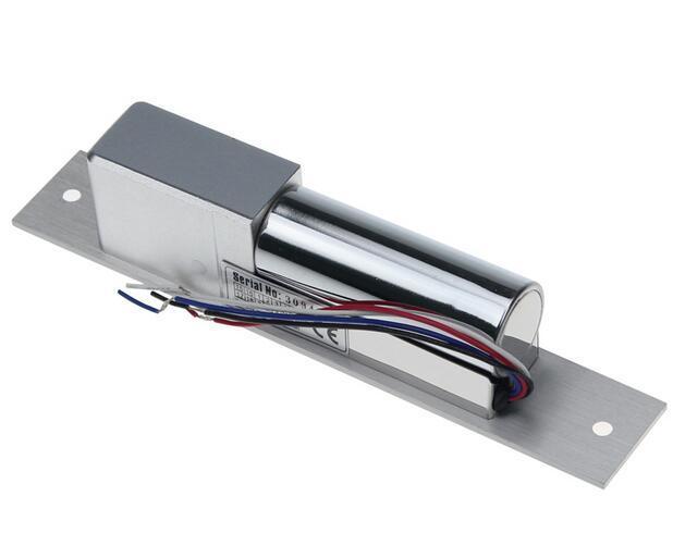 قفل مسمار كهربائي مع تأخير الوقت 0 9S ، 5 خطوط قفل حزام قطر كهربائي مع إشارة قفل ، درجة حرارة منخفضة ، sn: 605