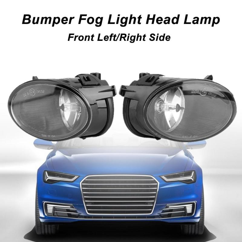 1 Pair Front Left/Right Side Bumper Fog Light Head Lamp Car LED Light for 2005-2008 AUDI A6L C6 Car Styling Car Light Assembly 2 pcs set car styling front bumper light fog lamps for toyota venza 2009 10 11 12 13 14 81210 06052 left right