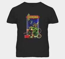 Castlevania NES Retro Video Game T Shirt Short Sleeve Summer Style O-Neck Tee Shirt T Shirt Men Loose Size T-shirt