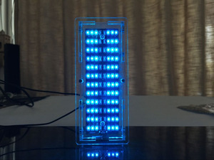Image 4 - גרסה חדשה מנתח ספקטרום LED מוסיקה MP3 PC מחוון רמת שמע מחוון מגבר מודול Diy ערכות עם מקרה