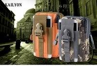 KAILYON Ngoài Trời Tactical Holster Quân Sự Eo Túi Vành Đai Túi Xách Ví Dây Kéo pouch Đối Với Nomu S20 S10 T10 Nous NS NS 5004 5006