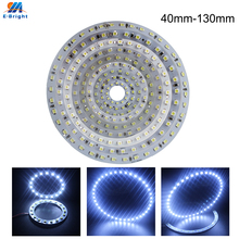 6Pcs 12V 1210 Leds SMD Angel Eye Led Halo Rings 40mm 50mm 60mm 70mm 80mm 90mm 100mm 110mm 120mm 130mm White Blue Amber Headlight