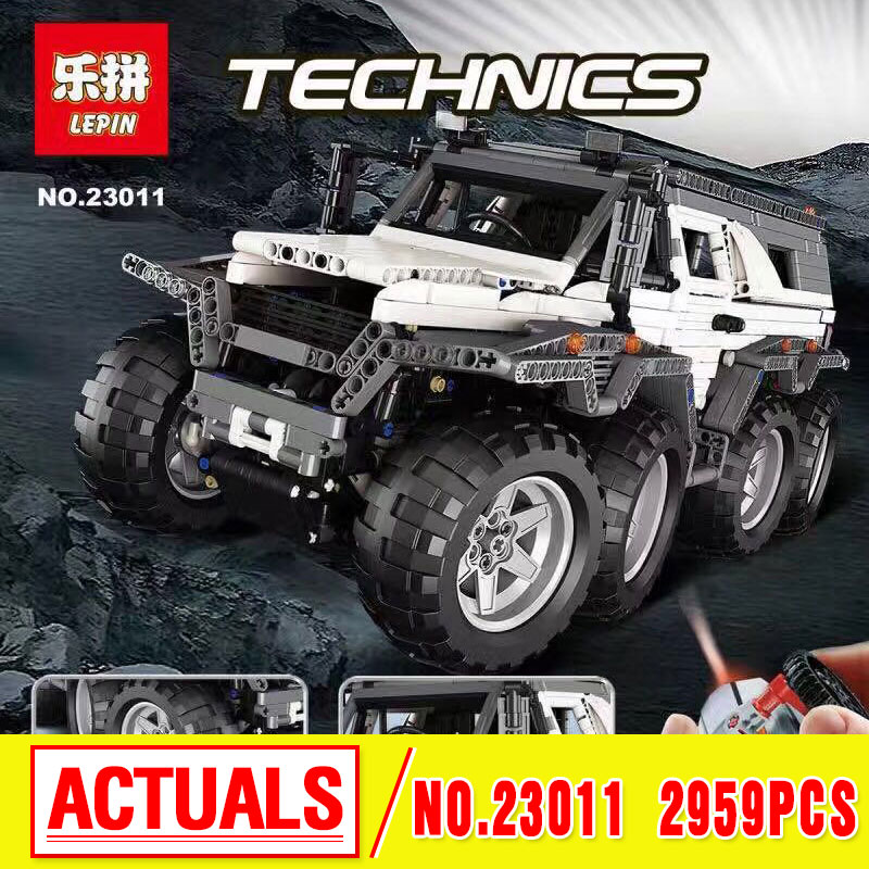 LEPIN 23011 Technic Series Off-road vehicle Model MOC Assembling Building Kits Block Bricks Compatible 5360 toy Educational Toy 2816 pcs lepin 23011 technic series off road vehicle model moc assembling building kits block bricks compatible 5360 toy