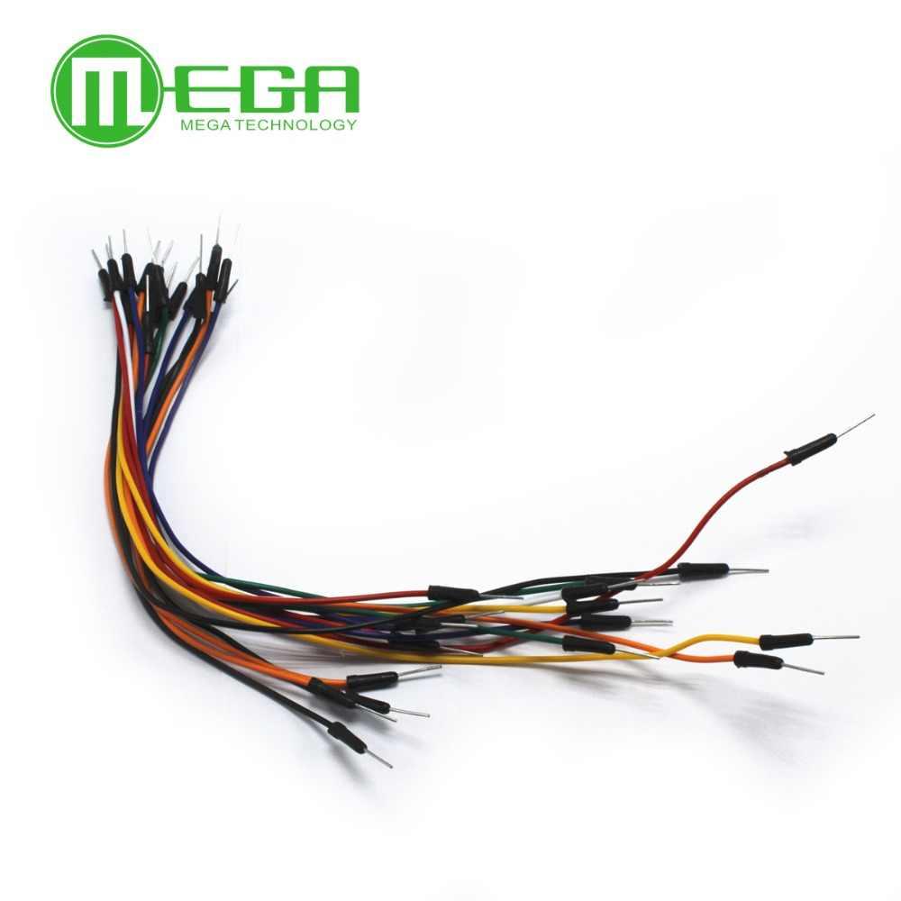 65 шт * 20 = 1300 шт Новые непаянные гибкие макетные перемычки Провода кабели для макетной платы. В наличии Высокое качество
