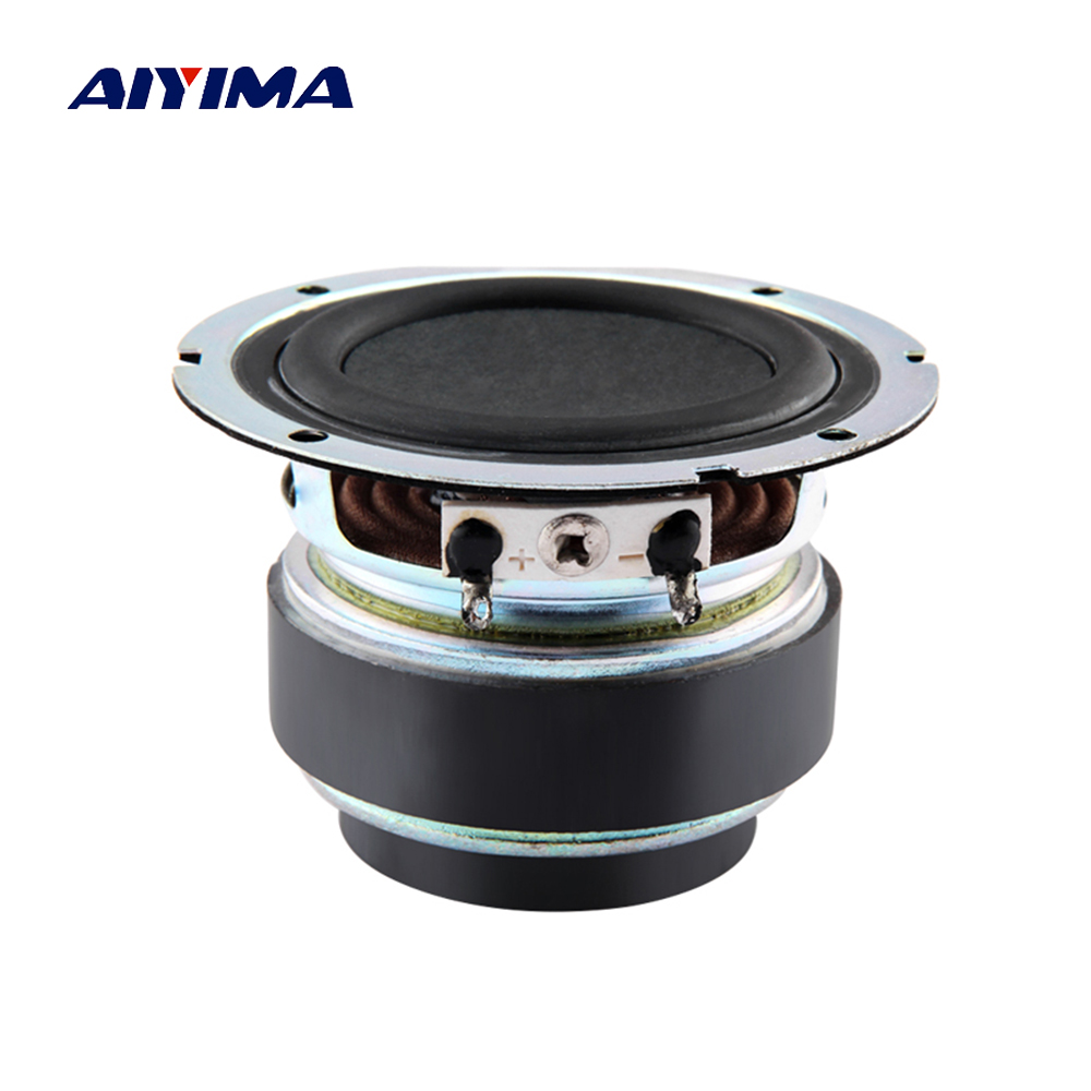 Aiyima 1PC 2.75 inch Full Range Speaker 6ohm Bluetooth Speaker Fever Midrange Bass Loudspeaker 15-30W ghxamp 3 inch 4ohm 30w midrange speaker car speaker mid human voice sound good loudspeaker for lg diy 2pcs