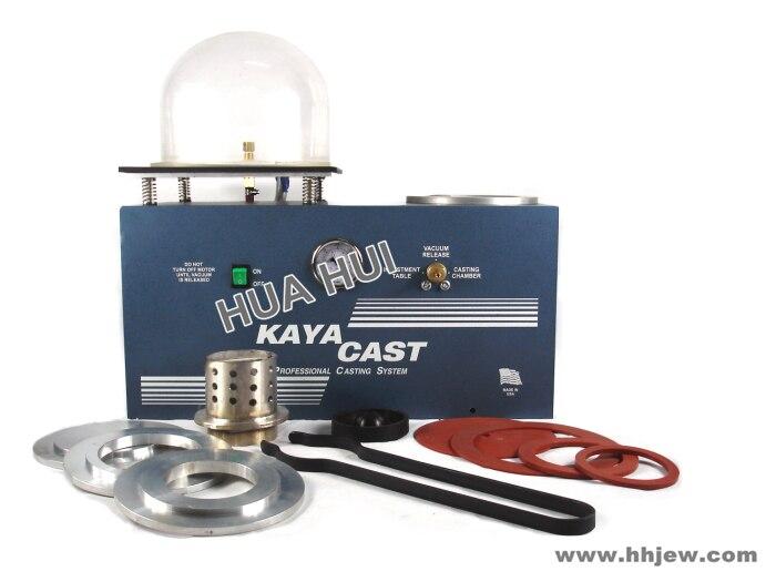 Free Shipping Jewelry Vacuum Casting Machine KAYA Vacuum Investing & Casting Machine, Jewelry Lost Wax Cast Combination