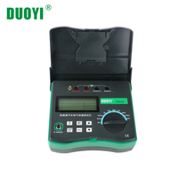 DUOYI DY4106 Automotive Circuit Resistance Tester Electrical Car Test Micro ohm Meter Resistance Tester With Temperature Sensor