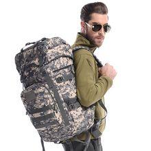 50 30lwaterproof Mochila Táctica Militar Del Ejército Viajes Deporte Mochilas de Excursión Que Acampa Trekking Bolsa de Camuflaje