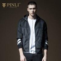 2019 куртка бомбер для мужчин, распродажа, Pinli, продукт, сделанный осенью, новый мужской стиль, даже шапка, прошитая куртка, B181204089, мужское пальт