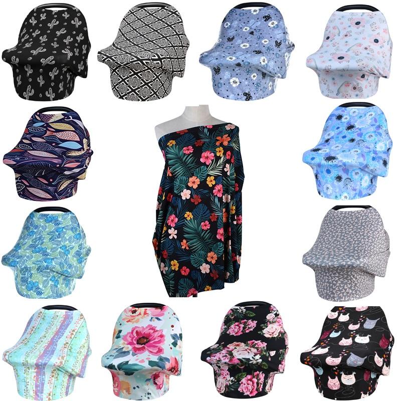 Fundas de lactancia materna cubierta de privacidad bufanda de bebé asiento de coche cochecito bufandas de lactancia